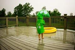 Attrezzi della pioggia Fotografia Stock