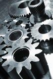 Attrezzi di titanio e d'acciaio Immagine Stock