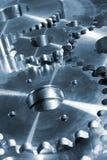 Attrezzi e pignoni di titanio fotografia stock libera da diritti