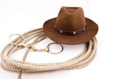 Attrezzo del cowboy Immagini Stock Libere da Diritti