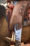 Attrezzo del cowboy immagine stock