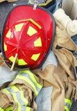 Attrezzo del pompiere Immagini Stock Libere da Diritti