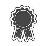 Attribuez l'icône, illustration de vecteur sur le fond blanc illustration de vecteur