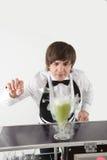 Attribut av den bra bartendern fotografering för bildbyråer