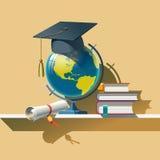 Attribut av utbildning Arkivbild