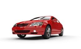 attribut för sedansportar för bakgrund tävlings- rött tema Arkivbild