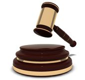 Attribute courtroom jury Royalty Free Stock Photo