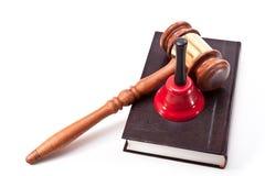 Attribute vor Gericht Stockfotografie