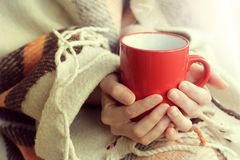 Attributes cozy warm holiday home Stock Photo