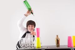 Attributes of good barman Royalty Free Stock Photos