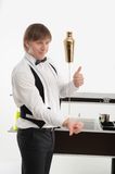 Attributes of good barman Royalty Free Stock Images