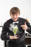 Attributes of good barman Stock Photos