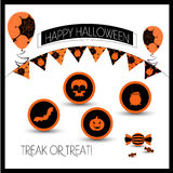 Attributes for Halloween Stock Photography