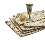 Attributes of Jewish Passover Seder Holidays. Passover is one of the main Jewish holidays Stock Photography