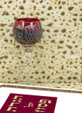 Attributes of Jewish Passover Seder Holidays Stock Image