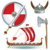 Attributes Vikings Stock Photos