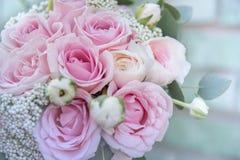 attributi alla moda di nozze della sposa bride&#x27 classico; mazzo di s fotografia stock