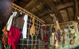 Attributi di vita rurale in Bulgaria fotografie stock libere da diritti