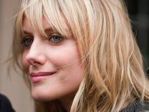 Attrice francese Melanie Laurent immagini stock libere da diritti