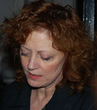 Attrice Susan Sarandon fotografia stock libera da diritti
