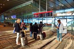 Attualmente, l'aeroporto ha avuto tre terminali operativi Immagine Stock Libera da Diritti