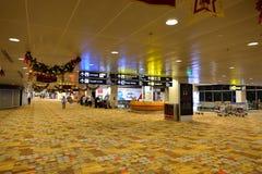 Attualmente, l'aeroporto ha avuto tre terminali operativi Fotografia Stock Libera da Diritti