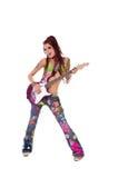Attuatore del Hippie di Dreadlock fotografie stock