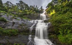 Attukad vattenfall i Kerala, Indien Royaltyfri Foto