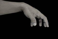 Atuação da mão Fotografia de Stock