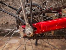 A roda de bicicleta. Fotos de Stock