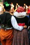 Atuendo-folklore fotografía de archivo