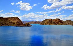 Atuhel湖在夏天 库存照片