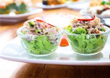 Atum da salada Imagem de Stock