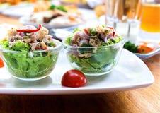 Atum da salada Fotografia de Stock Royalty Free
