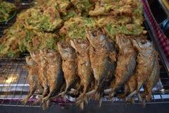 Atum fritado Foto de Stock