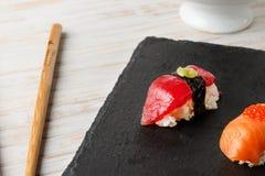 Atum vermelho Nigiri Imagem de Stock Royalty Free