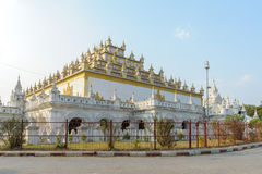 Atumashi Monastery in Mandalay, Myanmar Stock Photography