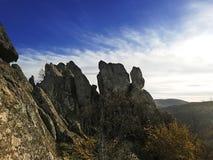 Aturdindo rochas de Borac imagem de stock royalty free