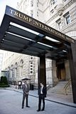 Atutowy Międzynarodowego hotelu główne wejście Waszyngton, d C, Zdjęcia Stock