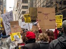 Atutowy wierza protest zdjęcie royalty free