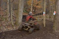 ATV种族 库存照片