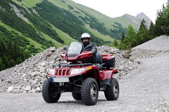 The ATV Royalty Free Stock Photo