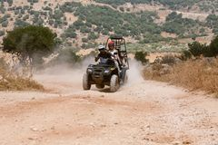 Atv action Stock Photography