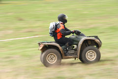 ATV in action. Four wheeler - ATV in action Stock Images