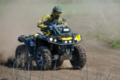 ATV Action Royalty Free Stock Photo