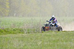 ATV Action Royalty Free Stock Photography