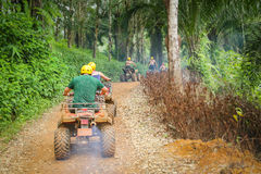 ATV Action Royalty Free Stock Images