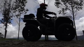 ATV, All Terrain Vehicles, 4x4 Motor Sports, Quads, Dirt stock video