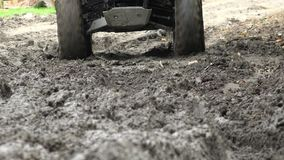 ATV, All Terrain Vehicles, 4x4 Motor Sports, Quads, Dirt stock footage