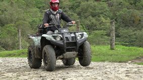 ATV, All Terrain Vehicles, 4x4 Motor Sports, Quads, Dirt stock video footage